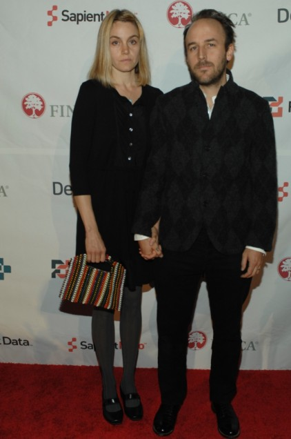 Film Director Derek Cianfrance and his wife Shannon Plumb