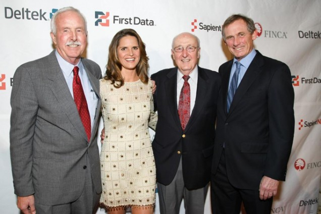 Founder John Hatch, Honoree Soledad Hurst, Chairman of the Board Robert Hatch, and President and CEO Rupert Scofield