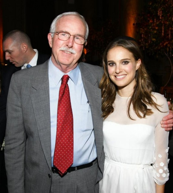 FINCA Founder John Hatch and Ambassador of Hope Natalie Portman