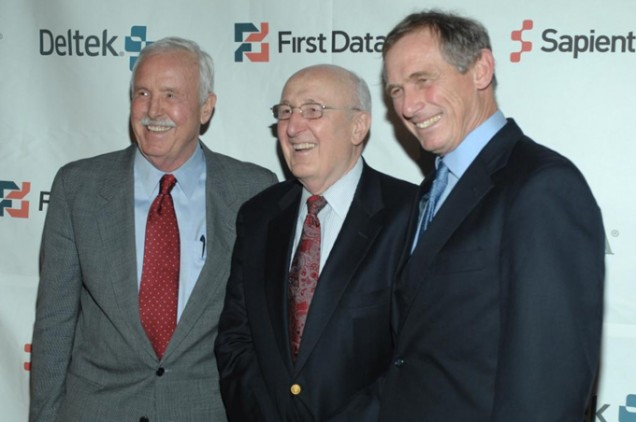 Founder John Hatch, Chairman of the Board Robert Hatch with President and CEO Rupert Scofield